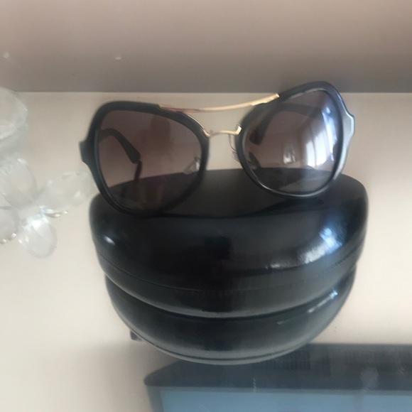 71d45970c7 ... low price prada authentic new sunglasses new black 7d4ac 9b90e
